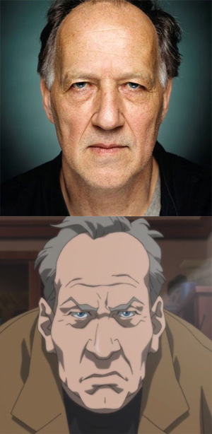 Herzog as drawn on the Boondocks